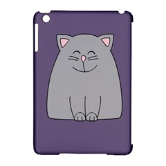 Cat Minimalism Art Vector Apple iPad Mini Hardshell Case (Compatible with Smart Cover)