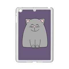 Cat Minimalism Art Vector iPad Mini 2 Enamel Coated Cases
