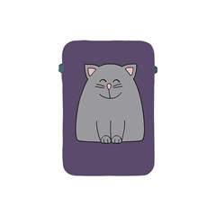 Cat Minimalism Art Vector Apple iPad Mini Protective Soft Cases