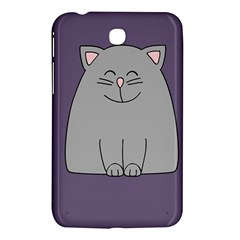 Cat Minimalism Art Vector Samsung Galaxy Tab 3 (7 ) P3200 Hardshell Case