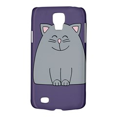 Cat Minimalism Art Vector Galaxy S4 Active
