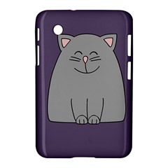 Cat Minimalism Art Vector Samsung Galaxy Tab 2 (7 ) P3100 Hardshell Case