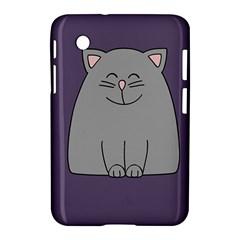 Cat Minimalism Art Vector Samsung Galaxy Tab 2 (7 ) P3100 Hardshell Case