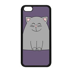 Cat Minimalism Art Vector Apple Iphone 5c Seamless Case (black)