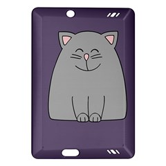 Cat Minimalism Art Vector Amazon Kindle Fire HD (2013) Hardshell Case
