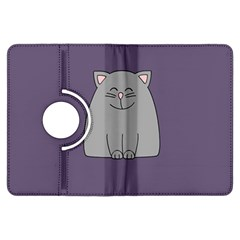 Cat Minimalism Art Vector Kindle Fire HDX Flip 360 Case