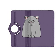 Cat Minimalism Art Vector Kindle Fire HDX 8.9  Flip 360 Case