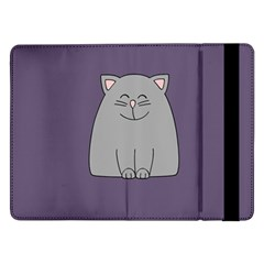 Cat Minimalism Art Vector Samsung Galaxy Tab Pro 12.2  Flip Case