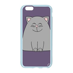 Cat Minimalism Art Vector Apple Seamless iPhone 6/6S Case (Color)