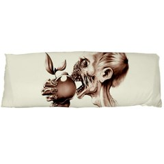 Zombie Apple Bite Minimalism Body Pillow Case (dakimakura)