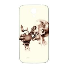 Zombie Apple Bite Minimalism Samsung Galaxy S4 I9500/I9505  Hardshell Back Case