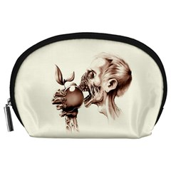 Zombie Apple Bite Minimalism Accessory Pouches (Large)