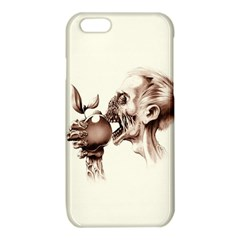 Zombie Apple Bite Minimalism iPhone 6/6S TPU Case
