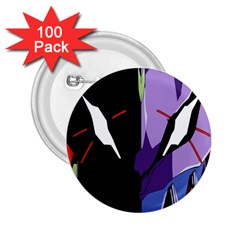 Monster Face Drawing Paint 2.25  Buttons (100 pack)