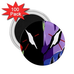 Monster Face Drawing Paint 2.25  Magnets (100 pack)