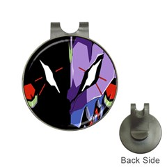 Monster Face Drawing Paint Hat Clips With Golf Markers