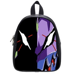 Monster Face Drawing Paint School Bags (small)