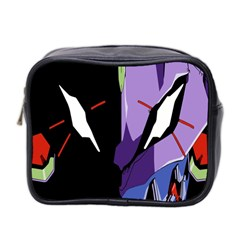 Monster Face Drawing Paint Mini Toiletries Bag 2 Side