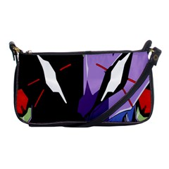 Monster Face Drawing Paint Shoulder Clutch Bags