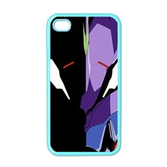 Monster Face Drawing Paint Apple Iphone 4 Case (color)