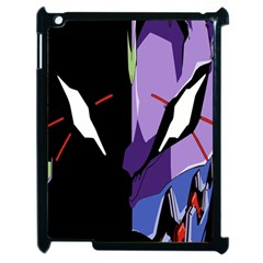 Monster Face Drawing Paint Apple iPad 2 Case (Black)
