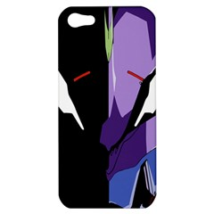 Monster Face Drawing Paint Apple Iphone 5 Hardshell Case