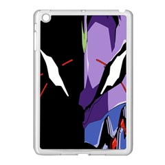 Monster Face Drawing Paint Apple iPad Mini Case (White)