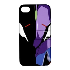 Monster Face Drawing Paint Apple iPhone 4/4S Hardshell Case with Stand