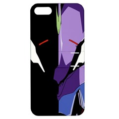 Monster Face Drawing Paint Apple iPhone 5 Hardshell Case with Stand