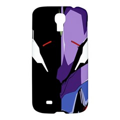Monster Face Drawing Paint Samsung Galaxy S4 I9500/i9505 Hardshell Case