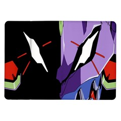 Monster Face Drawing Paint Samsung Galaxy Tab 10.1  P7500 Flip Case