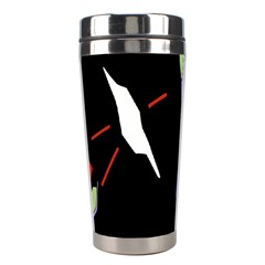 Monster Face Drawing Paint Stainless Steel Travel Tumblers