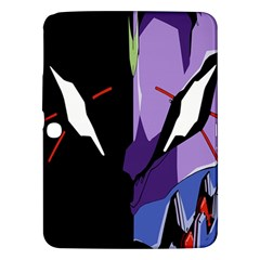 Monster Face Drawing Paint Samsung Galaxy Tab 3 (10.1 ) P5200 Hardshell Case
