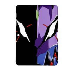 Monster Face Drawing Paint Samsung Galaxy Tab 2 (10.1 ) P5100 Hardshell Case
