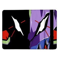 Monster Face Drawing Paint Samsung Galaxy Tab Pro 12.2  Flip Case