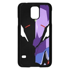 Monster Face Drawing Paint Samsung Galaxy S5 Case (Black)