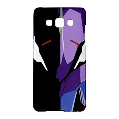 Monster Face Drawing Paint Samsung Galaxy A5 Hardshell Case