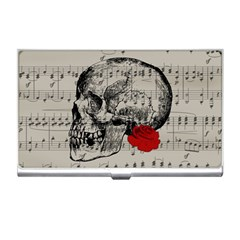 Skull and rose  Business Card Holders