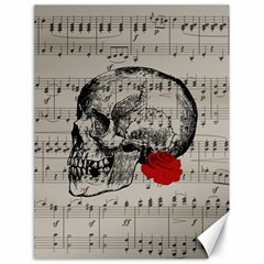 Skull and rose  Canvas 18  x 24