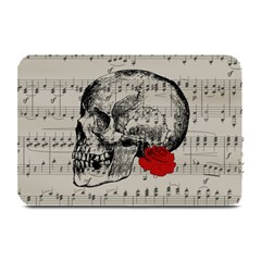 Skull and rose  Plate Mats