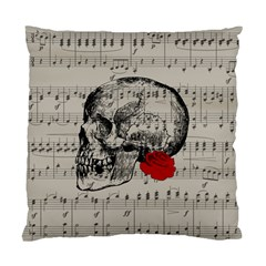 Skull and rose  Standard Cushion Case (One Side)