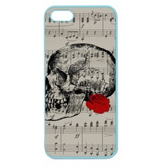 Skull and rose  Apple Seamless iPhone 5 Case (Color)