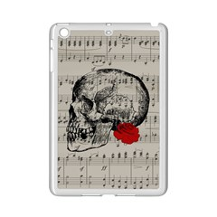 Skull and rose  iPad Mini 2 Enamel Coated Cases