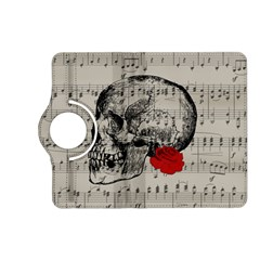 Skull and rose  Kindle Fire HD (2013) Flip 360 Case