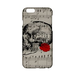 Skull and rose  Apple iPhone 6/6S Hardshell Case