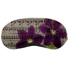 Vintage purple flowers Sleeping Masks