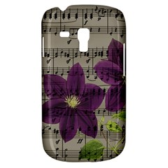 Vintage purple flowers Galaxy S3 Mini
