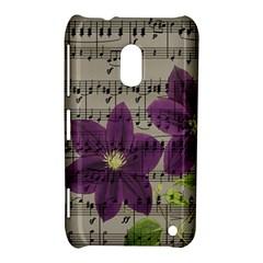 Vintage purple flowers Nokia Lumia 620