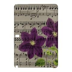 Vintage purple flowers Samsung Galaxy Tab Pro 10.1 Hardshell Case