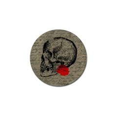 Skull and rose  Golf Ball Marker (10 pack)
